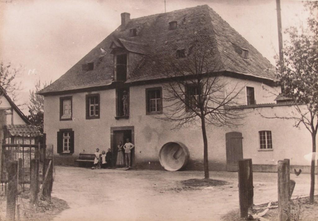 Schäferkämper Wassermühle 1910