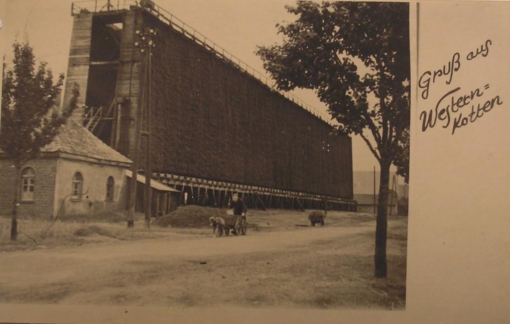 Gradierwerk an der Weringhauserstraße 1935
